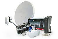 Комплект для приема спутникового телевидения без абонплаты - Базовый