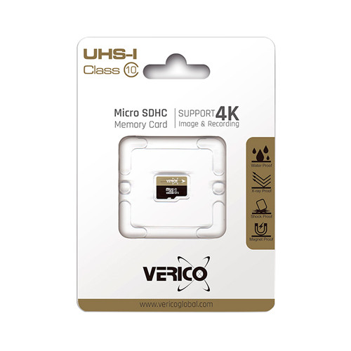 Карта пам'яті Verico MicroSDHC 16GB UHS-I Class 10