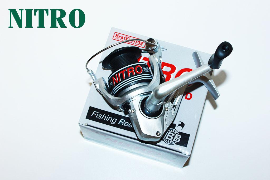 Катушка BratFishing Nitro FD 3000 1+1