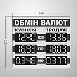 Светодиодное табло для банков 640х570 мм, фото 2
