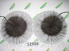 Меховой помпон Чернобурка, 13 см, пара 12904, фото 2