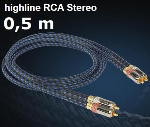 Кабель GOLDKABEL highline RCA Stereo от 0,5м