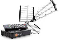 Комплект для приема Т2 телевидения - Т2 Maxi