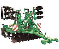 Агрегат почвообрабатывающий полунавесной АГМ-4,2 (2) (необслуживаемый корпус) Велес-Агро