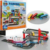 Игровой набор Паркинг для автобусов Тайо Parking area