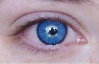 """Цветные линзы для глаз голубые """"Brilliant Blue"""" косметические купить по самым низким ценам в Украине."""