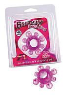 "Кольцо эрекционное Bungy Bead ring 2,5"""