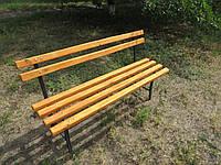 Скамейка, лавка для дачи и сада (разборная на болтах), фото 1