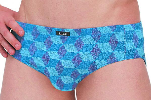 Трусы мужские Taso 3548 летние с узорами (оптом)