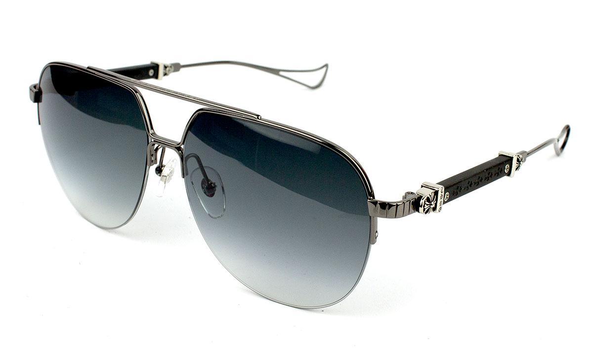 Солнцезащитные очки Chrome Heart Full Metal Chicken BK-GP