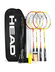 Набор для бадминтона Head Leisure Kit 4 bm set