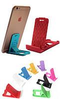 """Подставка для мобильного телефона / планшета (до 8"""") раскладная миниатюрная"""