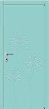Межкомнатная дверь Авангард, Модель FL7, серия FLORA
