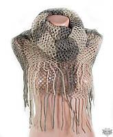 Коричневый женский шарф-снуд TRAUM