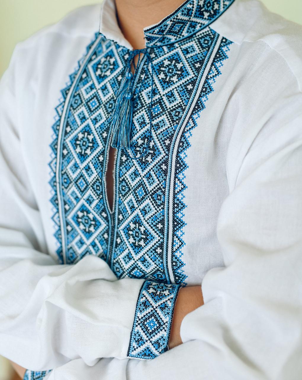 cbe1b451e6a898 Вишиванка чоловіча Хорив 58, кольору льону, цена 1 250 грн., купить  Тернопіль — Prom.ua (ID#729190986)