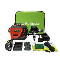 Лазерный уровень (нивелир) Fukuda New 3D red