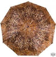 Женский коричневый зонт автомат AIRTON