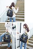 Рюкзак Meng черный, фото 5