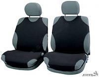 Майки чехлы для автомобиля универсальные Kegel на переднее сиденье черные