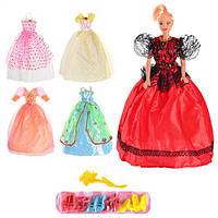 Кукла с набором платьев и обуви, 888 АВ-1