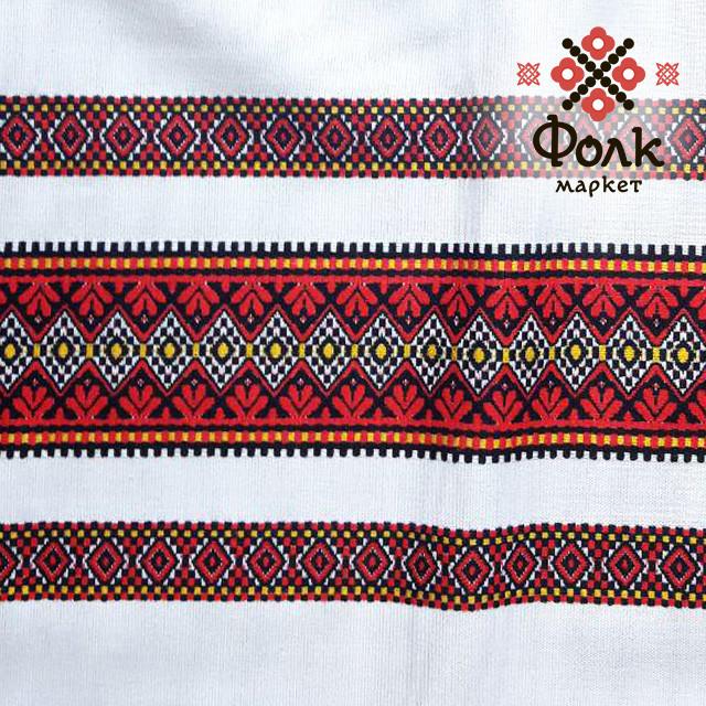 Ткань с украинской вышивкой Эрика