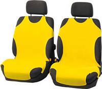 Майки чехлы для автомобиля универсальные Kegel на переднее сиденье желтые