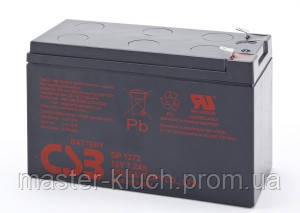 Аккумулятор CSB GP 1272 12V F2  7.2Ah