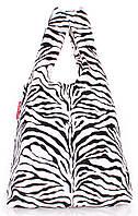 Женская виниловая сумка-пакет с принтом POOLPARTY VYNIL TOTE, pool-20-zebra
