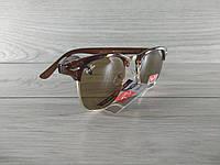 Солнцезащитные очки Ray Ban Clubmaster Клабмастер Brown