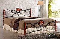 Ліжко двоспальне в спальню Польша Valentina 160*200 Halmar