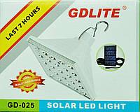 Светильник кемпинговый + зарядка от солнечной батареи Solar Led Light GR-025