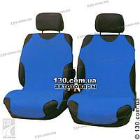 Майки чехлы для автомобиля универсальные Kegel на переднее сиденье cиние, фото 1