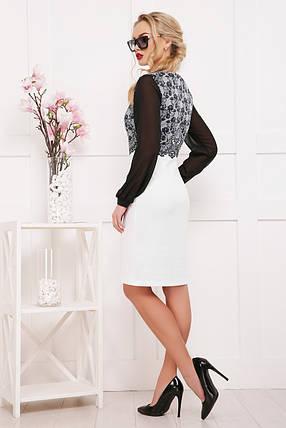 платье Лерина д/р GLEM Кружево черное, фото 2