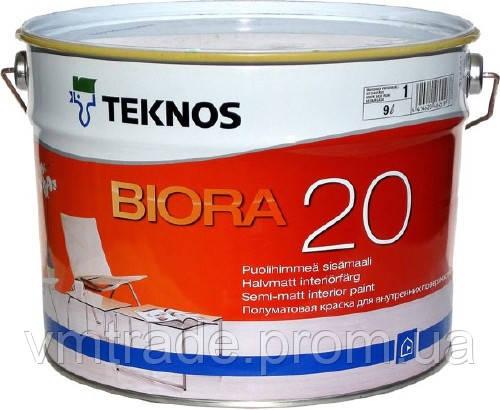 краска для стен Текнос Биора 20,  2.7л
