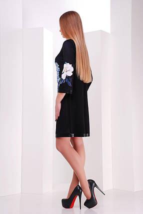 платье Тая-3ФК д/р GLEM Магнолии, фото 2