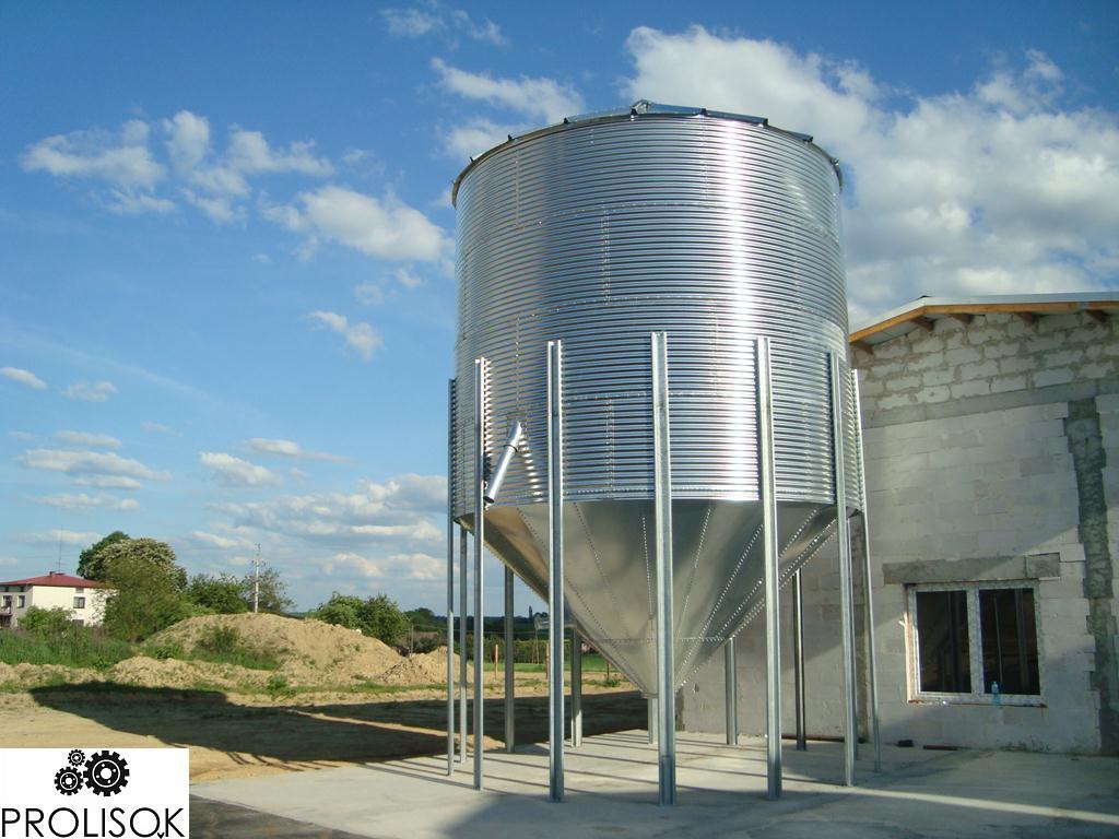Зернохранилище 120 т с конусным дном