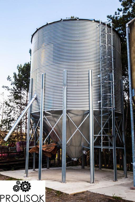 Силос для зерна 80 т с конусным дном