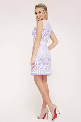 платье Лейла б/р GLEM Узор лаванда, фото 2