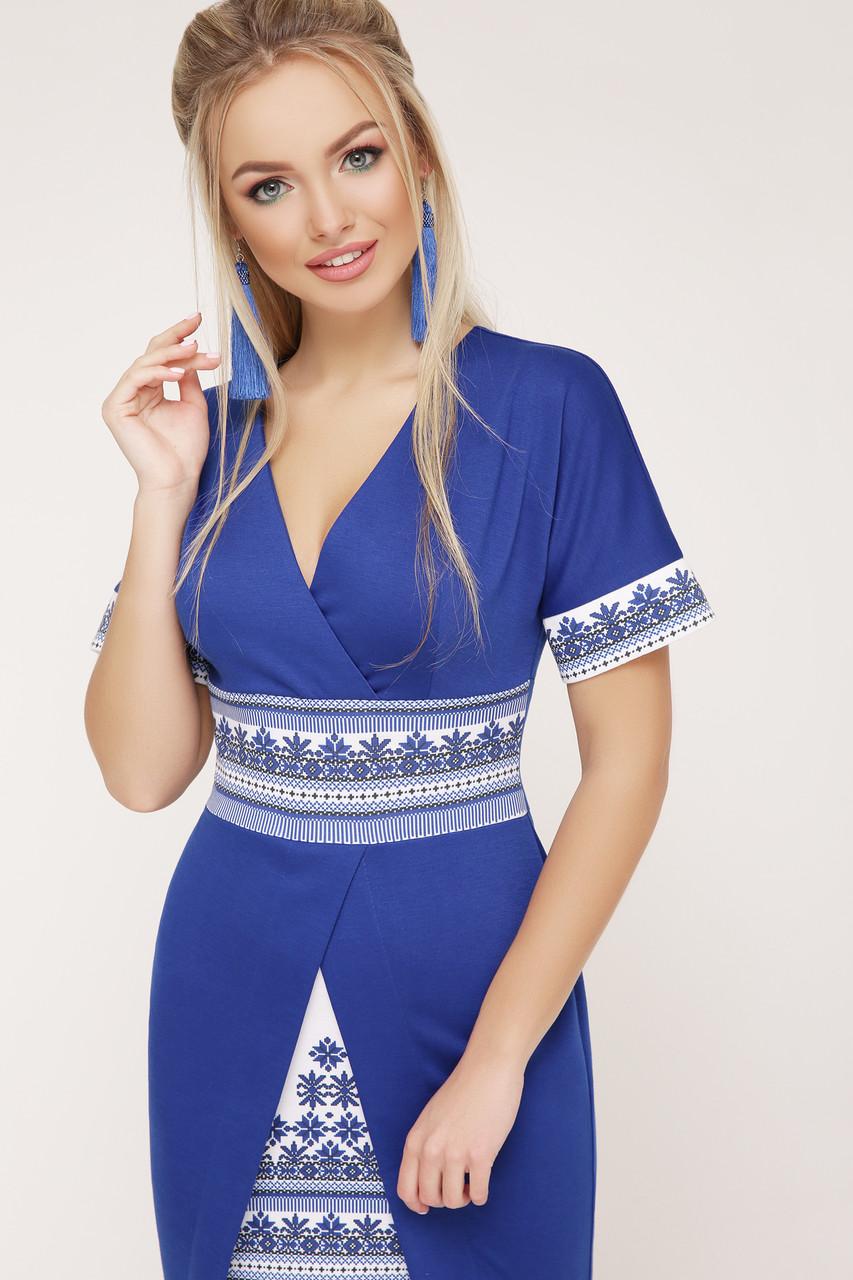 платье Аурика-П д/р GLEM Этно-украинский