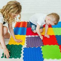 Ортопедический коврик пазл для детей Ортодон