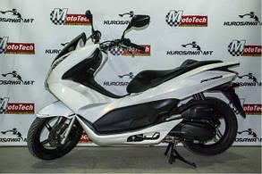 Макси скутер HONDA PCX 125 (б.у.)(белый) 2012 г.