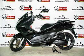 Макси скутер HONDA PCX 125 (б.у.)(черный) 2011 г.