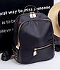 Рюкзак Meng черный С268