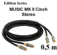 Кабель GOLDKABEL edition MUSIC MK II Cinch Stereo от 0,5м