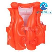 Детский надувной жилет для плавания Intex 58671 «Swim Trainers», 50 х 47 см