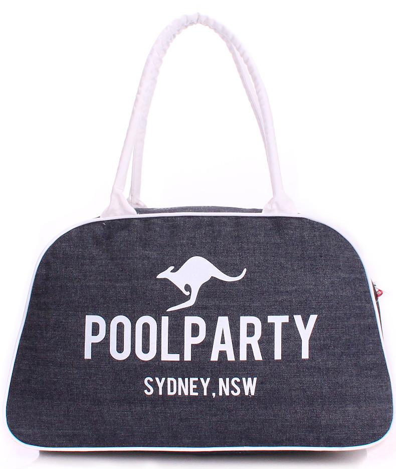 Женская джинсовая сумка POOLPARTY pool-16-jeans