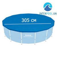 Тент для каркасного круглого бассейна 305 см Bestway 58036