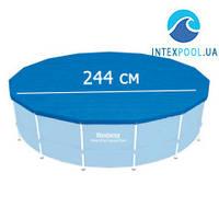 Тент для каркасного круглого бассейна 244 см Bestway 58301