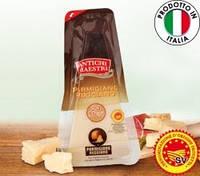 Сыр итальянский Parmigiano Reggiano DOP Antichi Maestri (Пармезан) 24 мес. выдержки, 250 г., фото 1