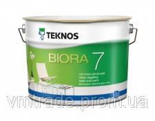 краска для стен Текнос Биора 7,  2.7л, Б3